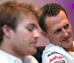 Schumacher, Rosberg looking forward to Indian GP
