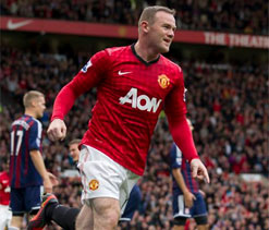 Wayne Rooney recovers from own goal to fire Manchester United to victory over Stoke City