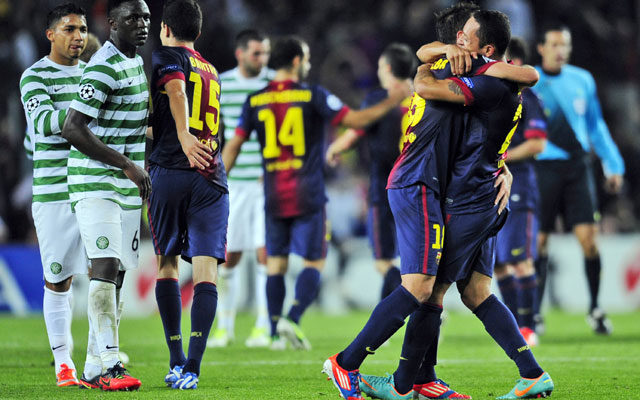 Champions League: Barcelona beat Celtic after coming from behind