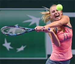 Aggression powered me past Errani: Sharapova