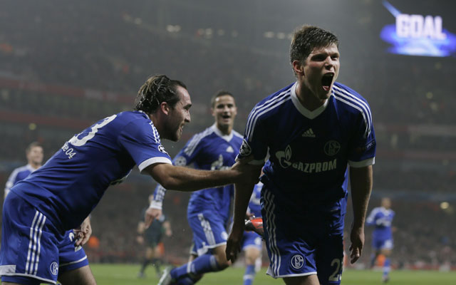 Arsenal 0-2 Schalke: Huntelaar & Afellay gun down sloppy hosts