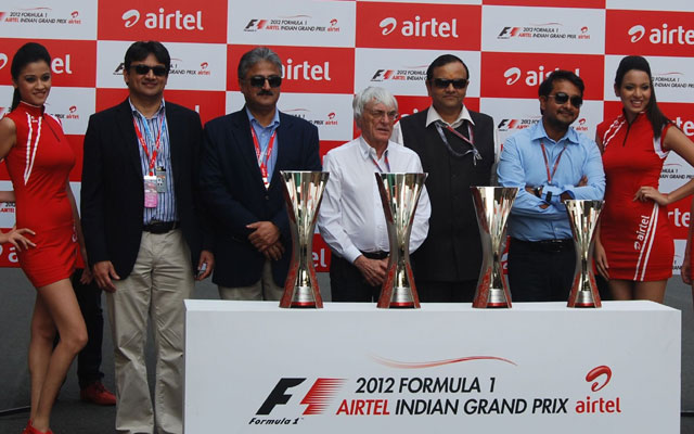 Indian GP 2012: The trophy unveiled!