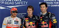 Indian GP: Vettel claims pole position, poor show by Force India