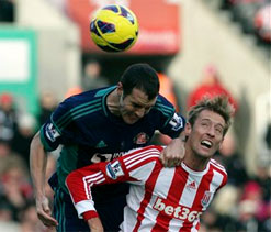 Stoke 0-0 Sunderland: Mignolet heroics ensures battle of the draw specialists ends all square