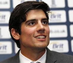 Alastair Cook led England team arrives for Test, T20 rubbers