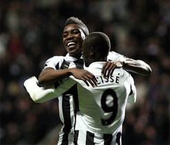 Newcastle 2-1 West Brom: Papiss Cisse nets priceless stoppage-time winner
