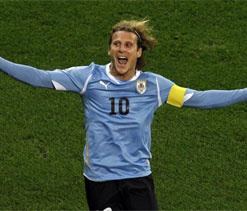 Forlan rules out move to Argentina`s Independiente