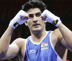 Vijender game for establishing boxing academy in AP capital