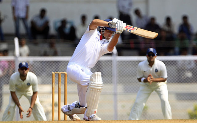 Cook leads England's reply with patient century