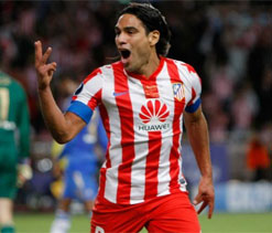 Falcao happy at Atletico, but no promises for future