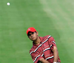 Bhullar overcomes triple bogey to shoot 72 in Korea