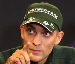 Vitaly Petrov unwell ahead of Japan GP