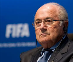 FIFA president Blatter to visit Cuba