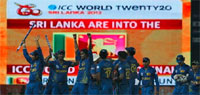 ICC T20 World Cup 2012: Sri Lanka beat Pakistan to enter final