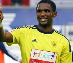 Eto`o scores twice as Anzhi beat Young Boys
