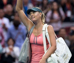 Sharapova-Azarenka set up China Open final