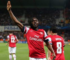 Wenger delighted with Gervinho`s impact up front