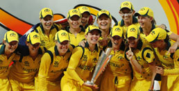 Australian eves beat England to win Women`s World T20 c`ship
