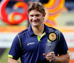 ICC World T20: Shane Watson named player of the tournament