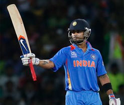 Virat Kohli lone Indian in ICC World T20 XI
