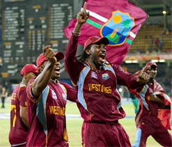 West Indies celebrate World T20 triumph in `Gangnam` style