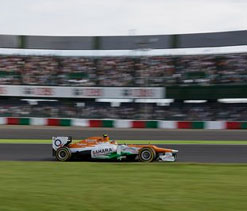 Sahara Force India aims podium finish in last five races