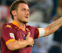 Francesco Totti not contemplating retirement