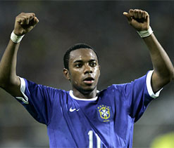 Robinho unlikely to return to Santos