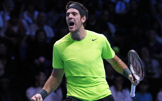 Juan Martin del Potro beats Roger Federer in London