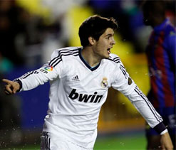 Levante 1-2 Real Madrid: Morata to the rescue for Mourinho`s men