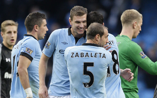 Manchester City come from behind to beat Tottenham Hotspur 2-1