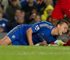 John Terry `out for weeks not months`