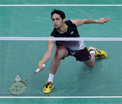 Kashyap wins, Sindhu loses in China Open