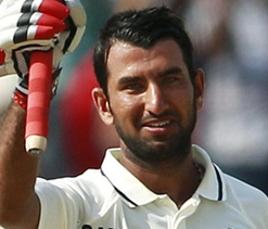 Pujara becomes 19th Indian to hit double century in Tests