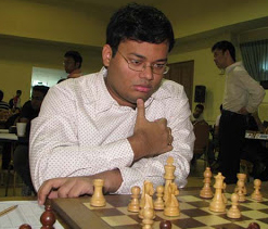 Ganguly beats Zherebukh, jumps to joint lead