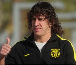 Carles Puyol to make Barcelona return against Zaragoza