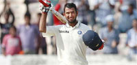 India vs England 1st Test, Day 2: Pujara, spinners help India tighten grip