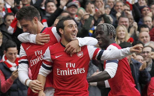 Giroud & Walcott seal vital comeback win for Arsenal over Tottenham