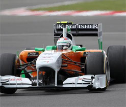 Nico scores for Force India, finishes 8th at US Grand Prix