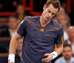 Andy Murray stunned at Paris Masters