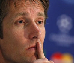 Edwin Van der Sar is marketing director of Ajax