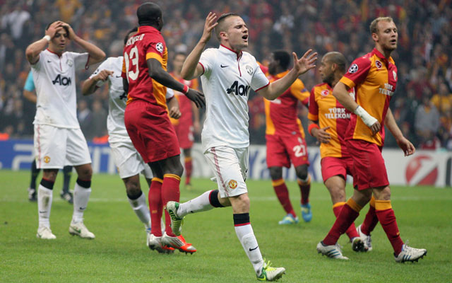 Galatasaray beat Manchester United in Champions League