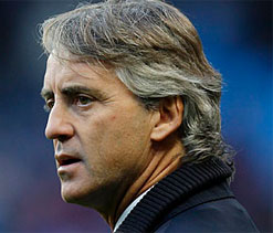 Mancini says Man City job 'safe' despite second consecutive CL loss