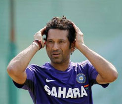 Tendulkar dismissed for 24th time by left-arm spinner
