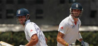 India vs England 2012: Cook and Pietersen guide England to comfortable position