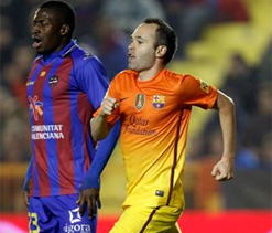 Iniesta, Benat shine in Spanish La Liga