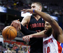 Toronto Raptors fall to San Antonio Spurs in NBA