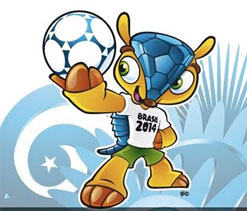 FIFA World Cup mascot named Fuleco