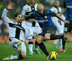 Parma defeat Inter Milan 1-0 in Serie A