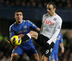Jol hails `fantastic` Berbatov after Chelsea draw
